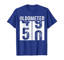 Load image into Gallery viewer, Oldometer 49-50 Shirt 50th Birthday Funny Gift Men Women T-Shirt