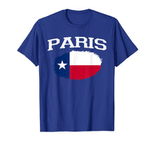 Load image into Gallery viewer, PARIS TX TEXAS Flag Vintage USA Sports Men Women T-Shirt