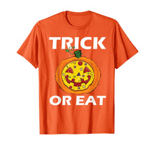 Load image into Gallery viewer, Trick Or Eat Costume Pizza Face Halloween Gift T-Shirt