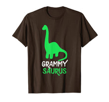 Load image into Gallery viewer, Funny shirts V-neck Tank top Hoodie sweatshirt usa uk au ca gifts for Grammy-Saurus Funny Dinosaur Gift Mother's Day T-Shirt 1446034