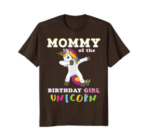 Funny shirts V-neck Tank top Hoodie sweatshirt usa uk au ca gifts for Mommy of the Birthday Girl T-Shirt Magic Unicorn 1163620