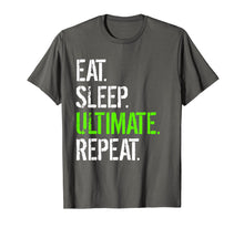 Load image into Gallery viewer, Funny shirts V-neck Tank top Hoodie sweatshirt usa uk au ca gifts for Eat Sleep Ultimate Repeat - Funny Frisbee T-Shirt 1616044