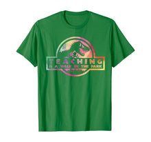 Load image into Gallery viewer, Teaching Is A Walk In Park Tshirt Teacher Gift  T-Shirt