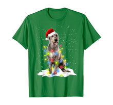 Load image into Gallery viewer, Scottish Deerhound Xmas T-Shirt