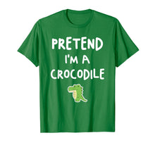 Load image into Gallery viewer, Pretend I'm a Crocodile Funny Easy Halloween Costume Gift T-Shirt