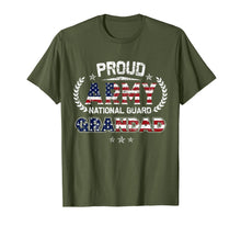 Load image into Gallery viewer, Proud Army National Guard Grandad Gift T-Shirt T-Shirt