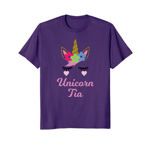 Funny shirts V-neck Tank top Hoodie sweatshirt usa uk au ca gifts for Unicorn Tia T-Shirt, Unicorn Gift, Girl Birthday Party 2962994