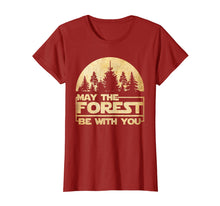 Load image into Gallery viewer, Funny shirts V-neck Tank top Hoodie sweatshirt usa uk au ca gifts for May The Forest Be With You T-Shirt 1463141