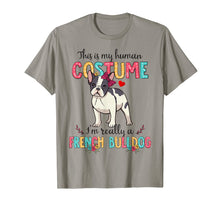 Load image into Gallery viewer, This Is My Human Costume I'm Really French Bulldog Halloween T-Shirt