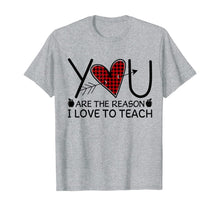 Load image into Gallery viewer, Teacher You Matter You're Important Reason Love Teach Gift T-Shirt