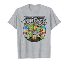 Load image into Gallery viewer, Funny shirts V-neck Tank top Hoodie sweatshirt usa uk au ca gifts for Teenage Mutant Ninja Turtles Retro Spot Logo Tee-Shirt 1038466