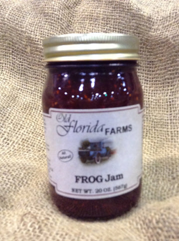 F.R.O.G. Jam (Figs, Raspberries, Orange, Ginger)