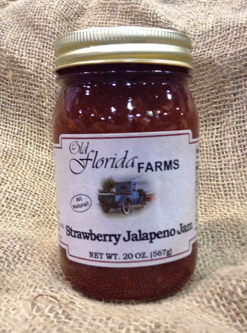 Strawberry - Jalapeno Jam