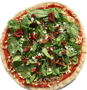 1/2 Pizza Spinaci (V)