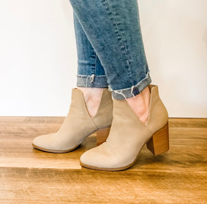 Side Slit Booties