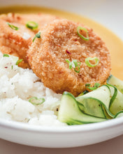 Load image into Gallery viewer, Katsu Squash with Rice & Pickled Cucumber