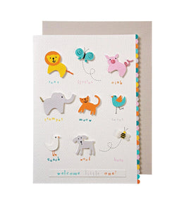 Baby - Animals with Sounds They Make Card