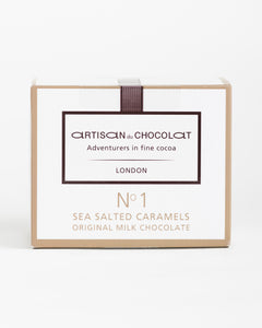 Artisan du Chocolat - Sea Salted Caramels - Original Milk Chocolate
