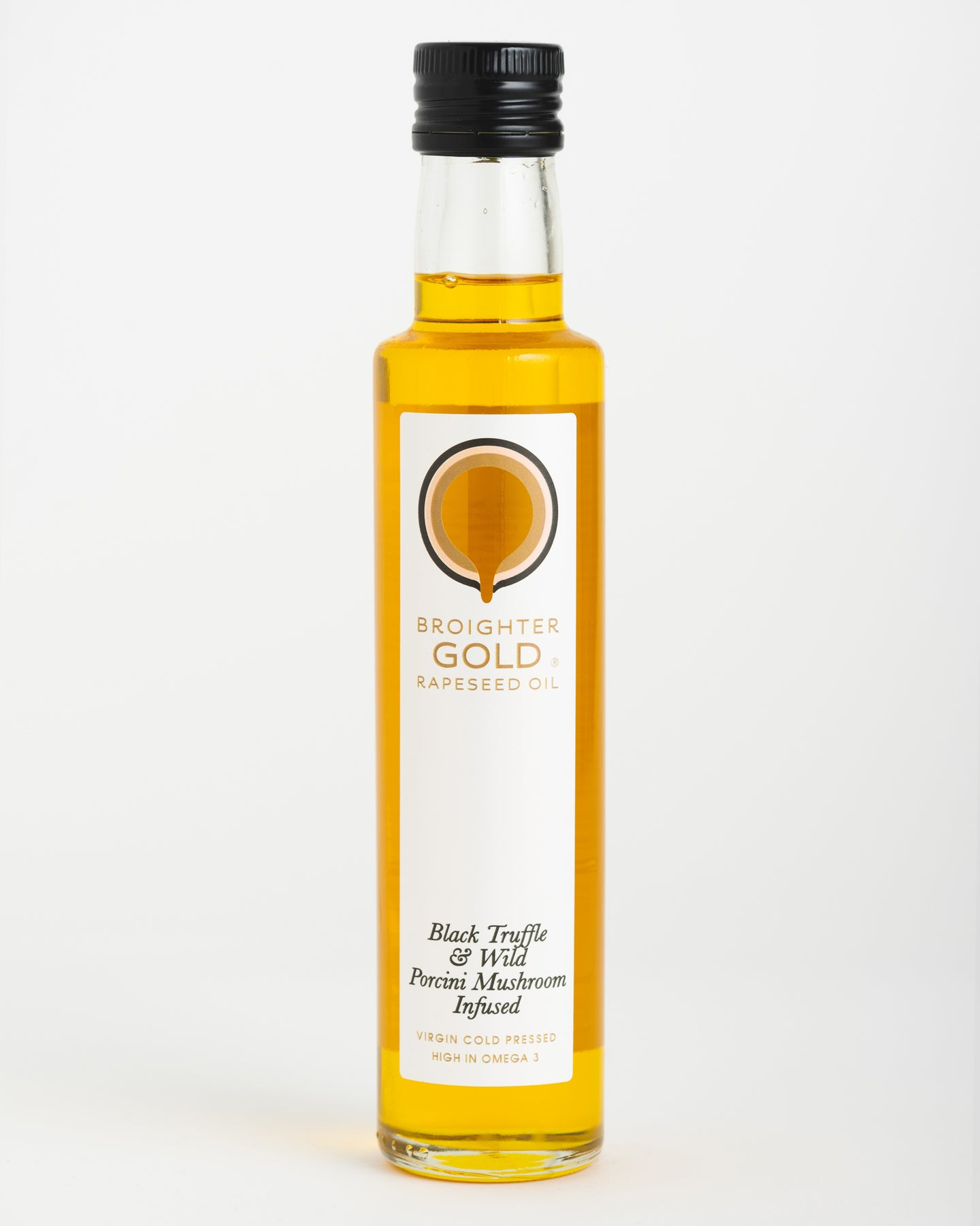 Broighter Gold - Black Truffle & Wild Porcini Mushroom Infused Rapeseed Oil