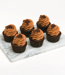 Cupcakes - Individual Flavours (6 Box)