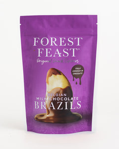 Forest Feast - Belgian Milk Chocolate Brazils