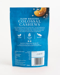 Forest Feast - Slow Roasted Sea Salt Colossal Cashews