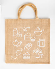 Load image into Gallery viewer, FV Food Store Hessian Bag