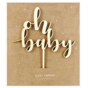 Baby - Baby Cake Topper