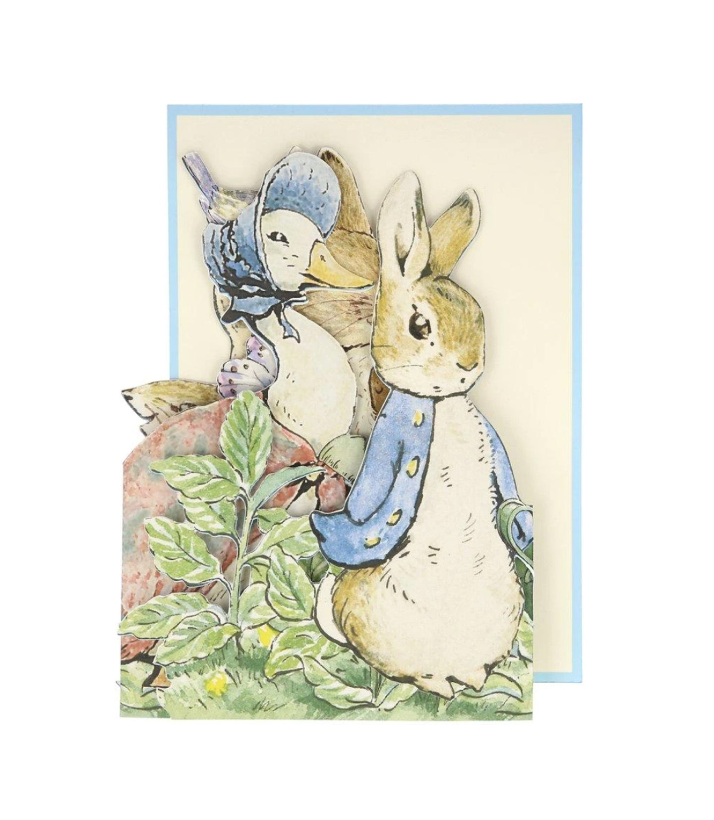 Blank - Peter Rabbit™ Concertina Card
