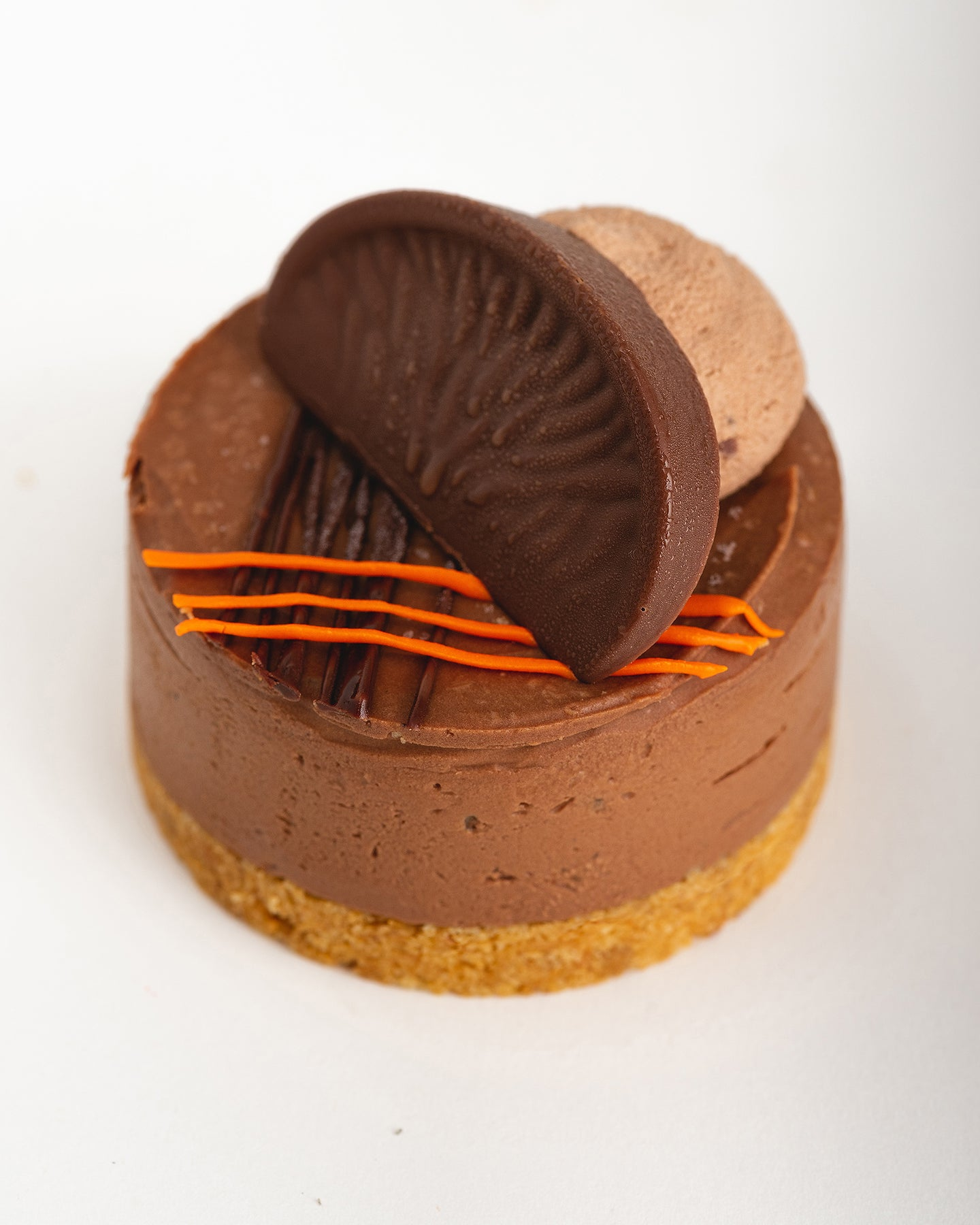 Individual Terry's Chocolate Orange Cheesecake