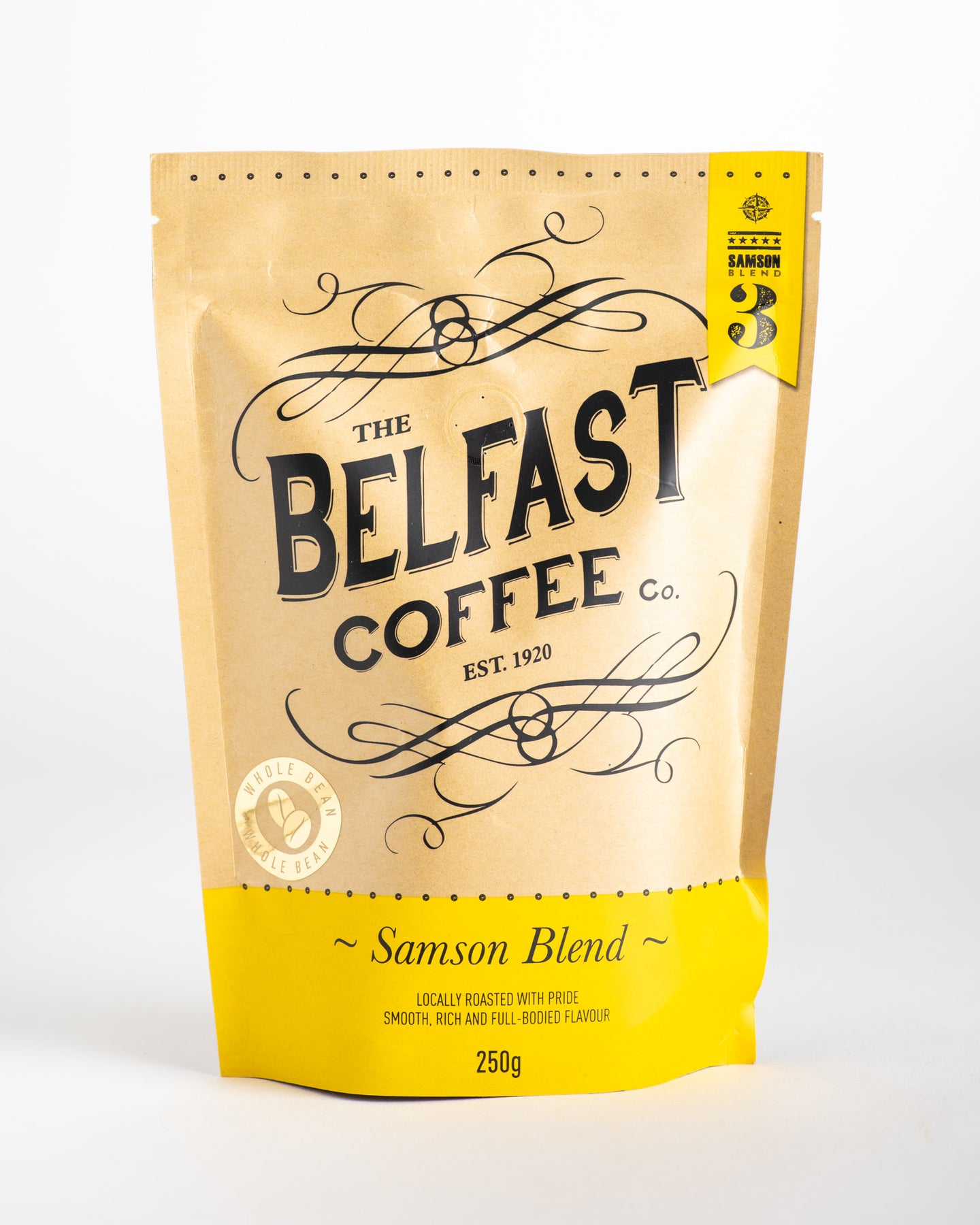 Belfast Coffee Co - Samson Blend Whole Bean