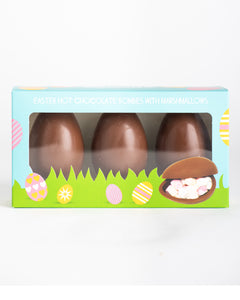 Cocoba -Hot Chocolate Bombes - 3 Pack Easter