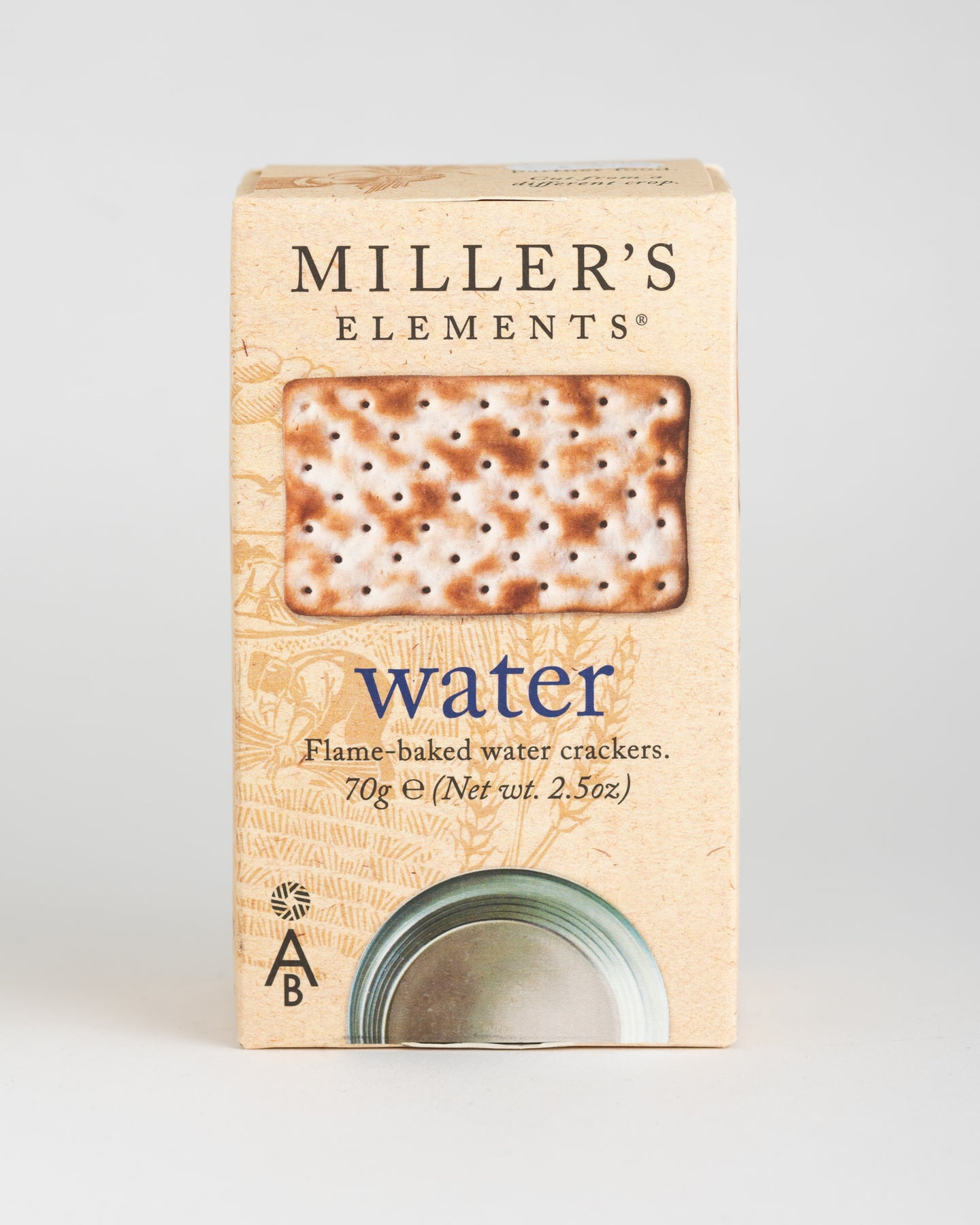 Artisan Biscuits - Miller's Elements - Water