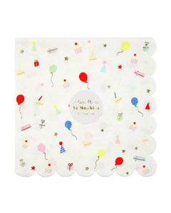 Party Icons Large Napkins