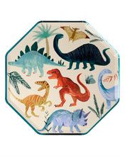 Load image into Gallery viewer, Dinosaur Kingdom Dinner Plates