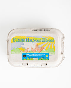 Springmount Farm Free Range Eggs (Pack of 6)