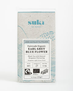 Suki Tea - Fairtrade Earl Grey Blue Flower