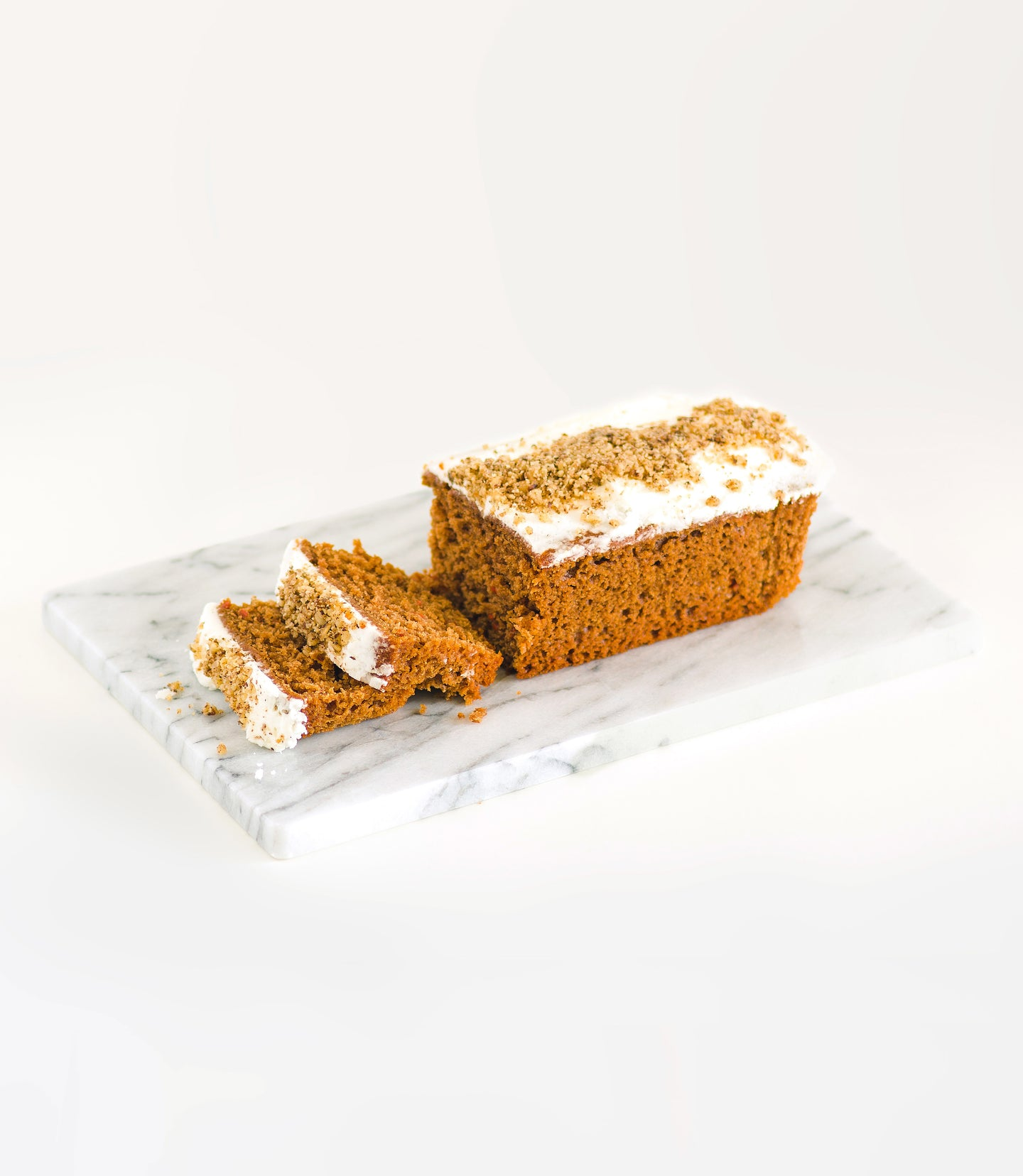 Carrot & Ginger Loaf Cake