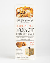 Load image into Gallery viewer, The Fine Cheese Co. - Toast for Cheese (Gluten Free) - Cherries, Almonds & Linseeds