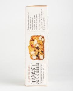 The Fine Cheese Co. - Toast for Cheese (Gluten Free) - Cherries, Almonds & Linseeds