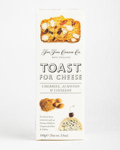 The Fine Cheese Co. - Toast for Cheese - Cherries, Almonds & Linseeds