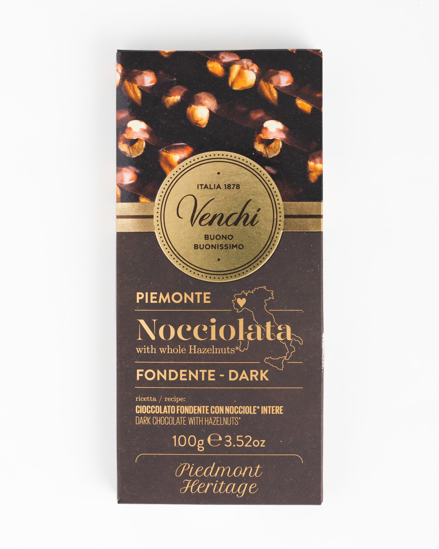 Venchi - Piemonte Nocciolata with whole Hazelnuts