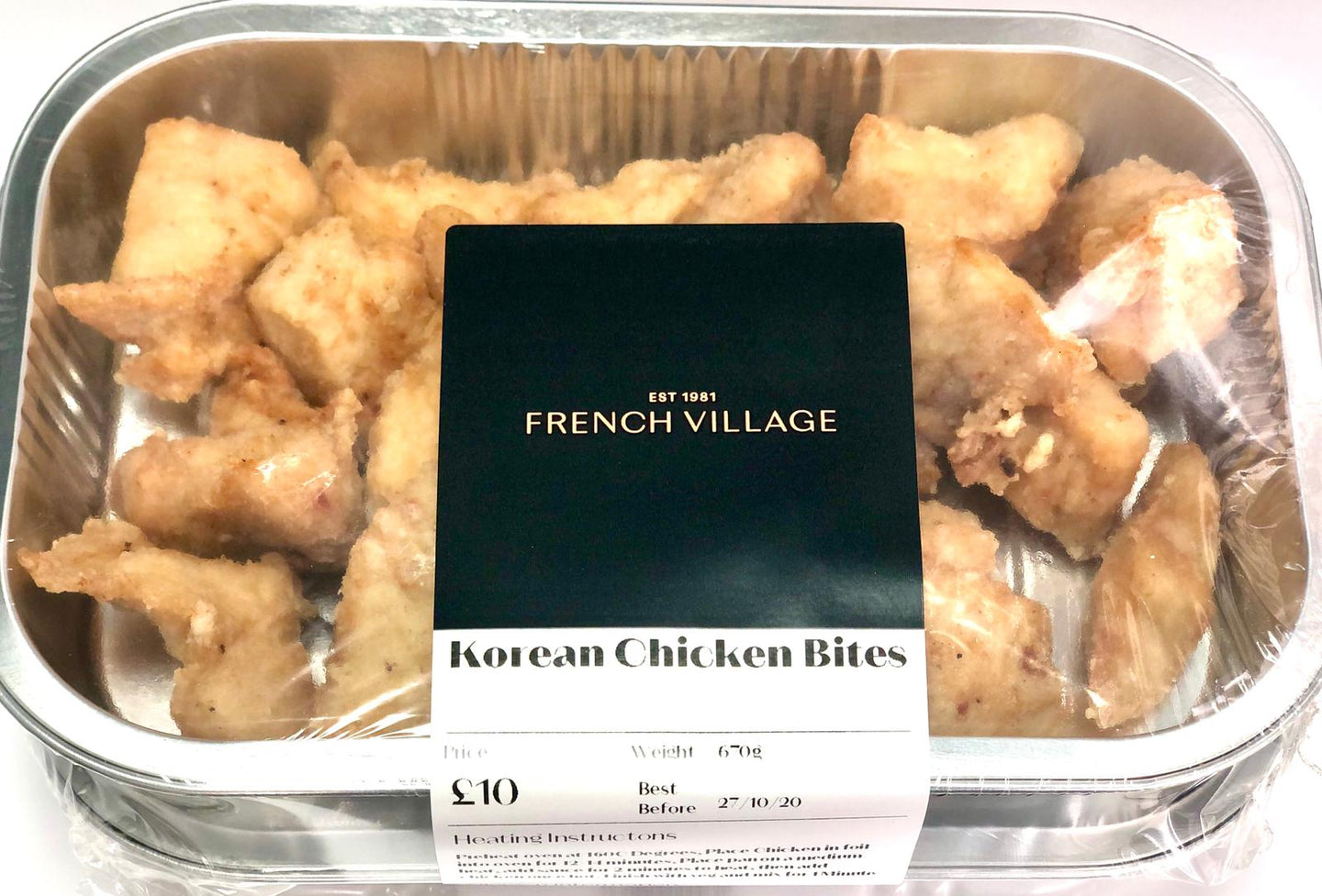 Korean Chicken Bites