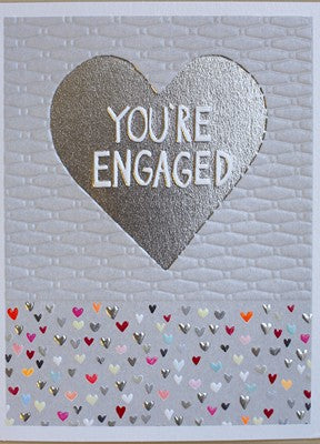 Engagement & Wedding - You're Engaged Card