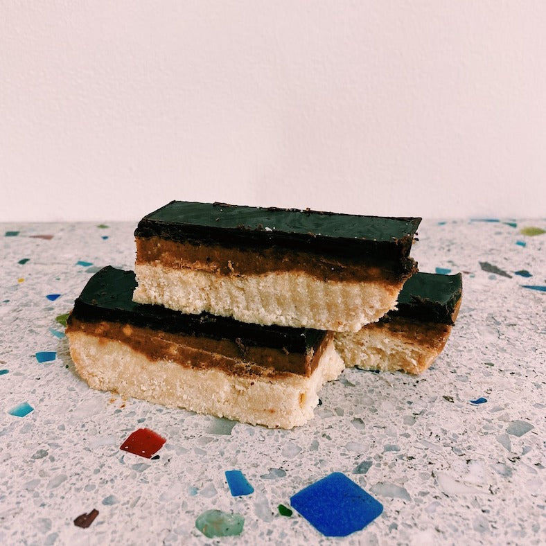 Vegan TWIX Slice