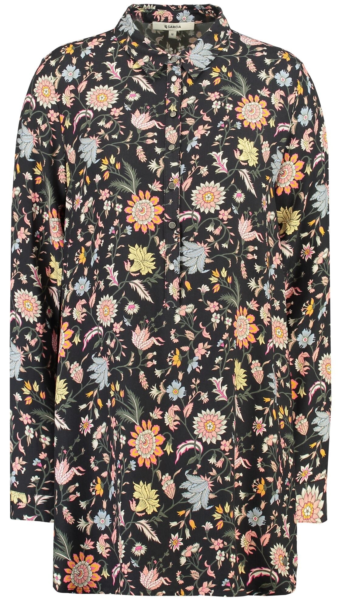 GARCIA Tunika mit allover Blumenprint