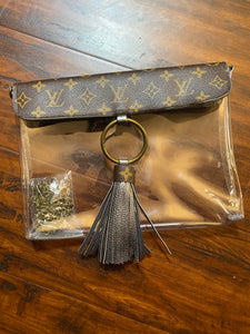 LV Clear Clutch or Crossbody w/ Tassel