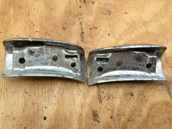 1962-64 Chevy Corvair- Convertible sun visor mounts, pivot latch