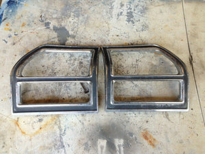 1969 Chevelle-Original tail light bezels
