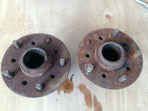 1969 Pontiac GTO, Chevelle, Camaro -Original hubs for 2 piece rotor, disc